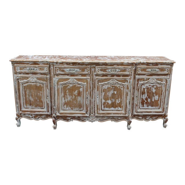C. 19th French Country Sideboard For Sale