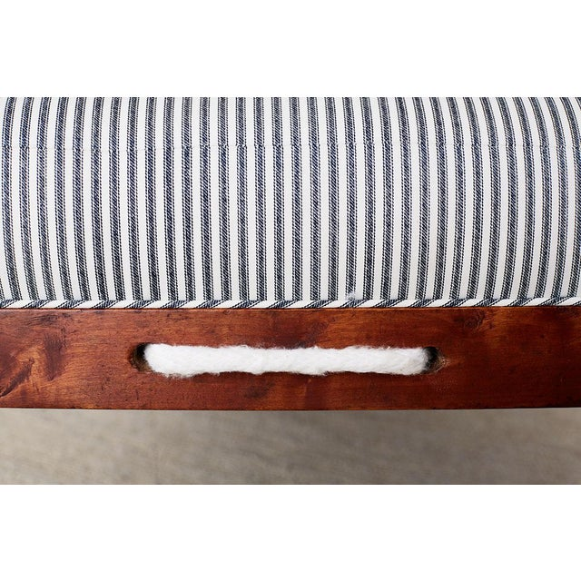 18th Century New England Cherry Daybed or Rope Bed For Sale - Image 11 of 13