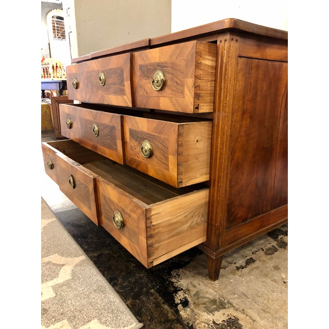 Louis XVI Period Chest of Drawers For Sale - Image 6 of 9