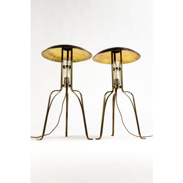 Tuell and Reynolds Tuell & Reynolds Bancroft Table Lamps (2 Available) For Sale - Image 4 of 10