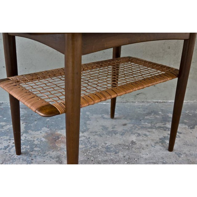 Vintage Poul Jensen for Selig Mid-Century Danish Modern End Table For Sale - Image 5 of 9