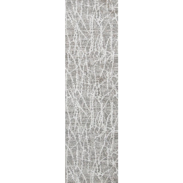 """Not Yet Made - Made To Order Stark Studio Rugs Jeeves Rug in Taupe, 2'7"""" x 7'7"""" For Sale - Image 5 of 5"""