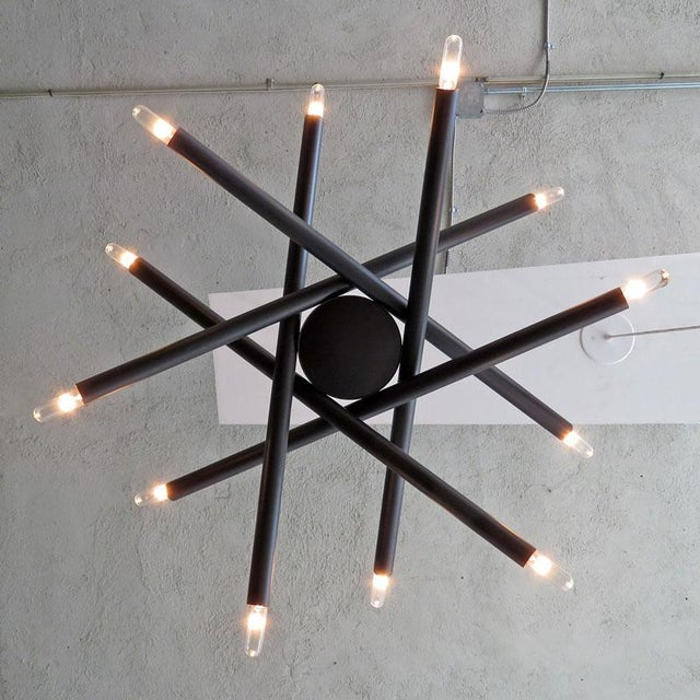 Gallery L7 Spiral Orb Chandelier For Sale - Image 10 of 11