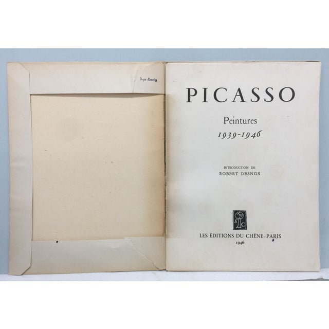 Pablo Picasso 1946 Picasso Portfolio of Fine Lithographs For Sale - Image 4 of 13
