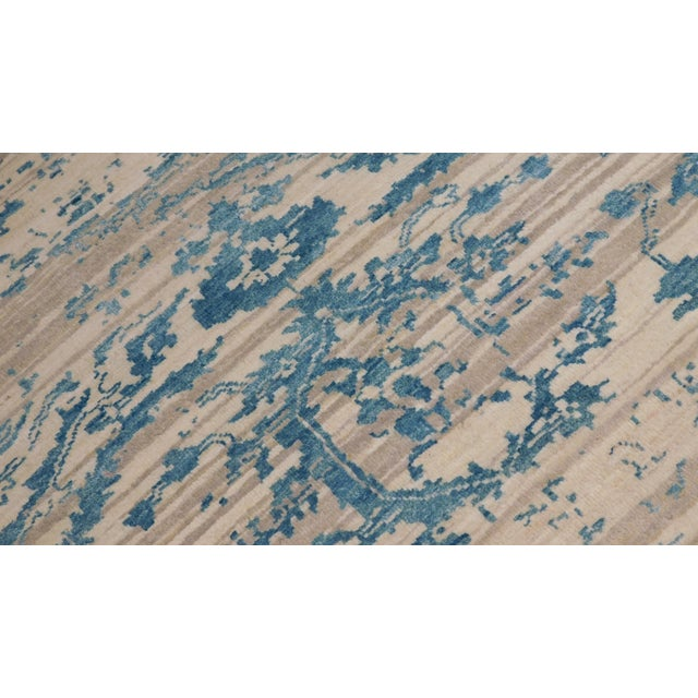 "Erased Hand-Knotted Luxury Rug - 7'10"" X 10'2"" - Image 4 of 10"