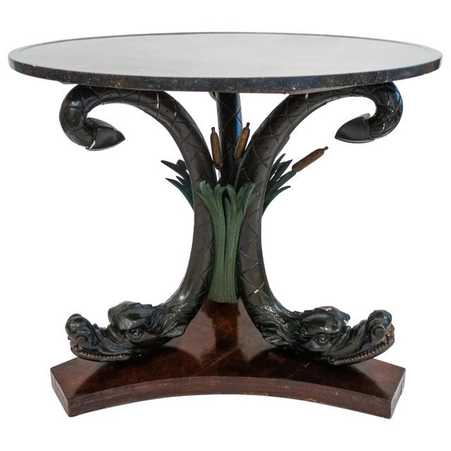 Austrian Neoclassical Center Table, Late 19th Century For Sale - Image 9 of 9
