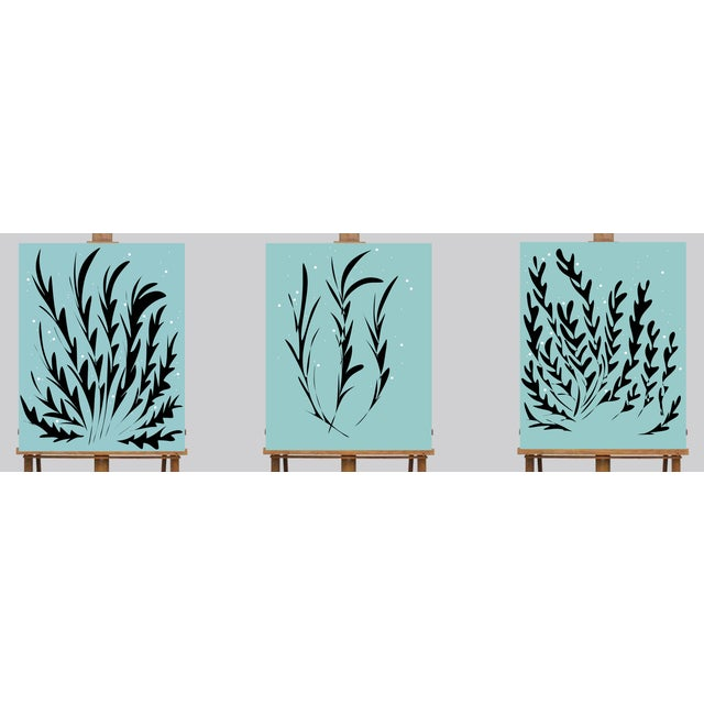 2010s Ocean Seaweed Limited Edition Canvas Prints - Set of 3 For Sale - Image 5 of 5