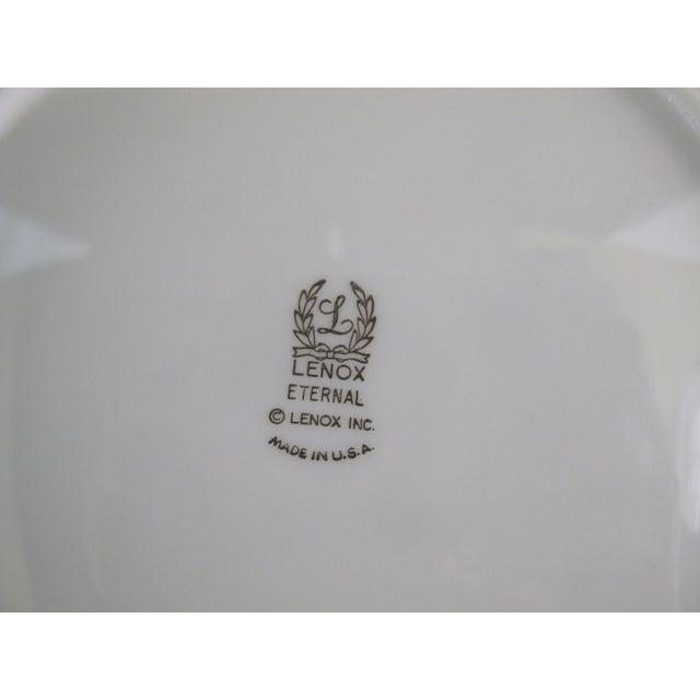 Mid 20th Century Lenox Ecru China Gold Rim Eternal Salad Plates - Set of 6 For Sale - Image 5 of 6