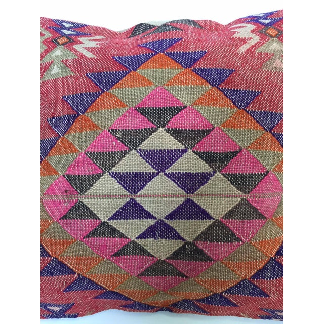 Handmade Kilim Pillow Cover - Image 3 of 6