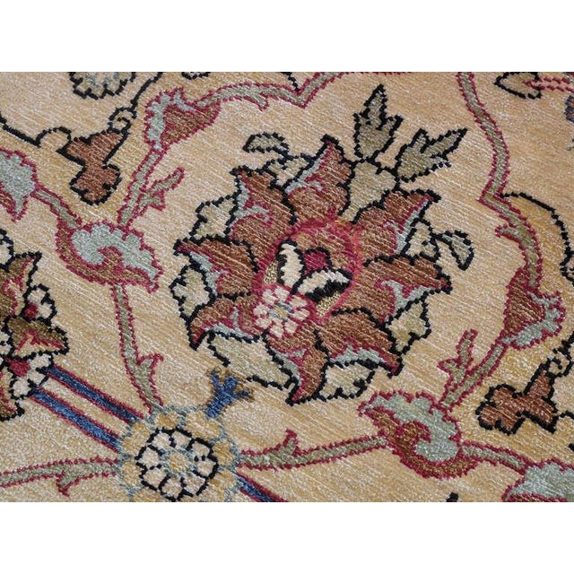 Silk Hereke Rug For Sale - Image 10 of 10