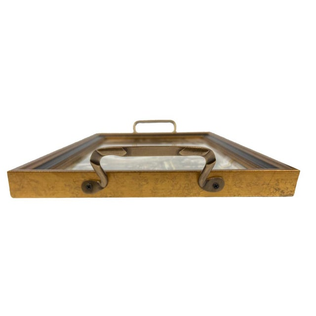American Contemporary Saddled Horses Tray For Sale - Image 3 of 5