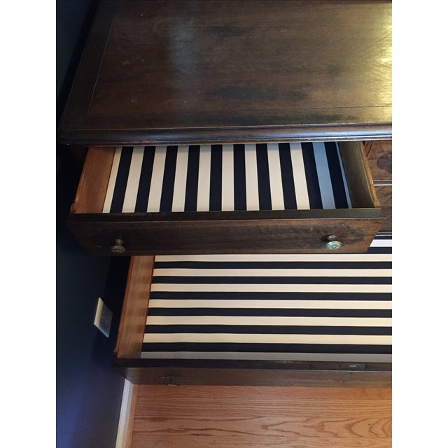 Vintage Dresser with Mirror - Image 4 of 4