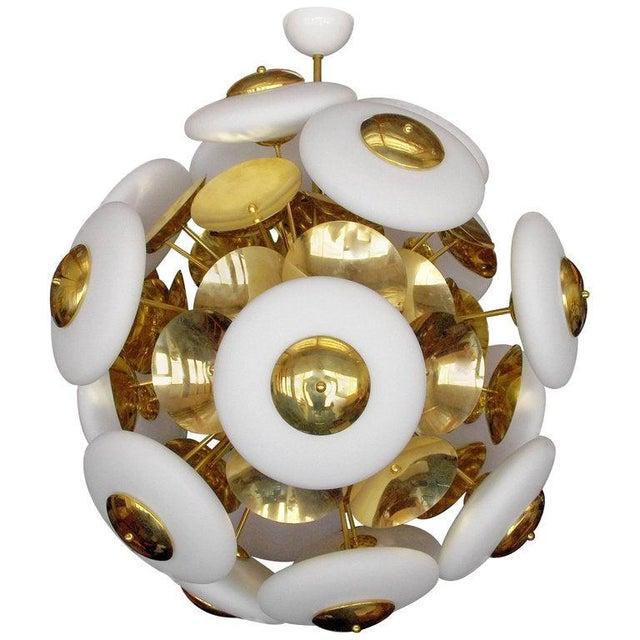 Cielo Sputnik Chandelier by Fabio Ltd For Sale - Image 9 of 9