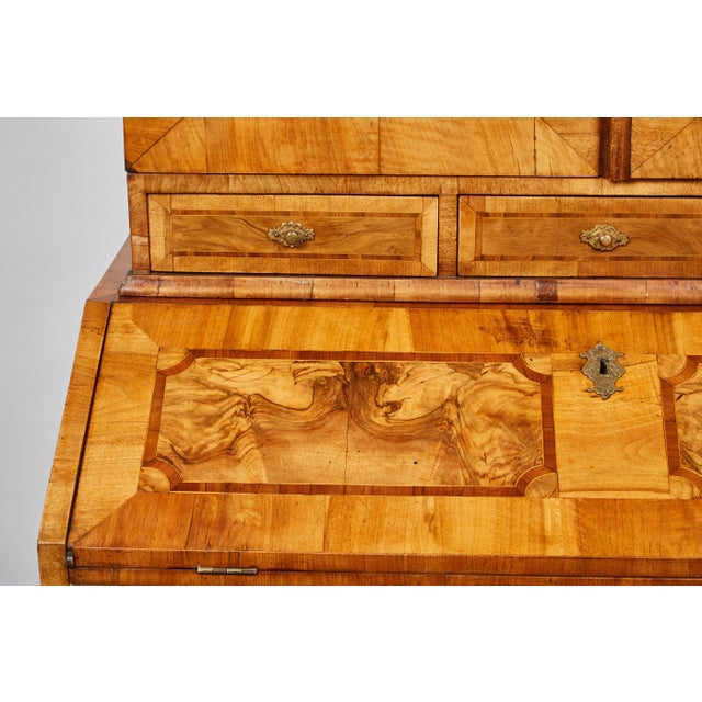 17th Century Late 17th Century Northern European Walnut Secretary For Sale - Image 5 of 10