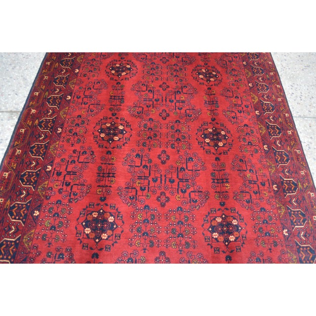 Afghan Tribal Red Rug For Sale In Orlando - Image 6 of 9