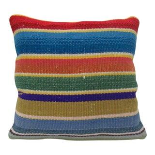 Vintage Handmade Decorative Kilim Pillow Cover For Sale