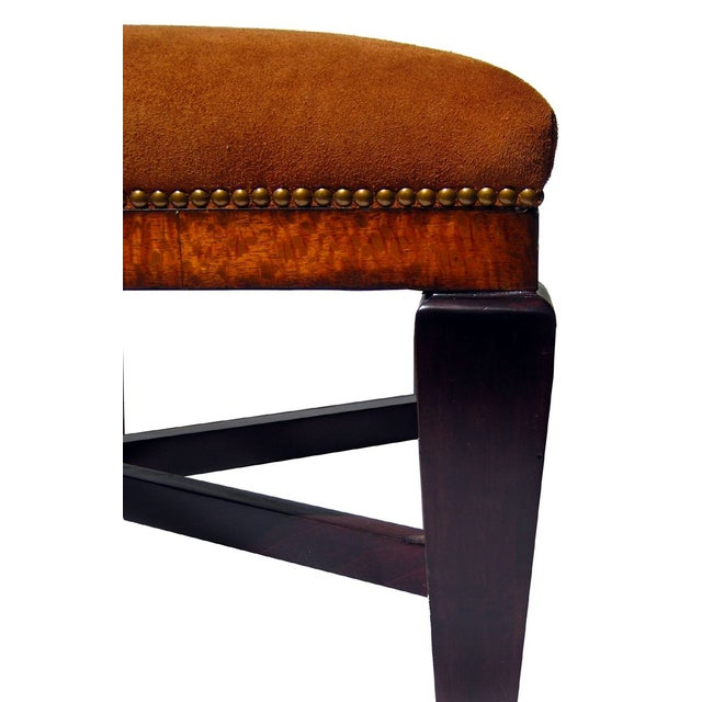 Bench in Polo Ralph Lauren Nubuck Suede Leather - Image 4 of 5