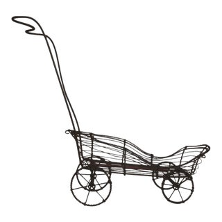 19th Century American Wire Buggy For Sale