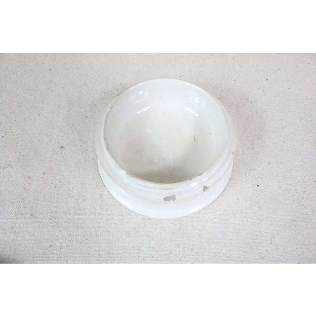 English Pot Lid on Base For Sale - Image 4 of 5