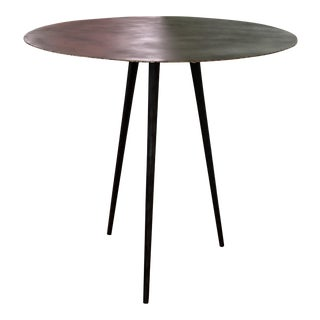 Contemporary Iron Bistro Table For Sale