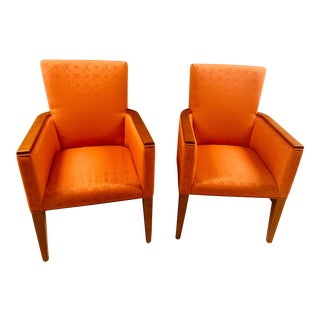 American of Martinsville Mid-Century Danish Modern Accent Chairs - a Pair For Sale