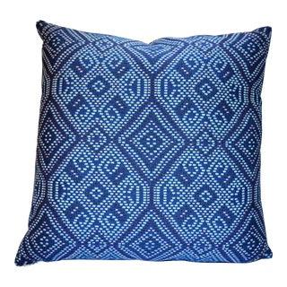 Elaine Smith Midnight Tile Pillow (Indoor / Outdoor)