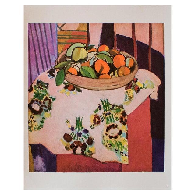 "Henri Matisse 1940s Henri Matisse, ""Oranges"" Original Period Swiss Lithograph For Sale - Image 4 of 6"