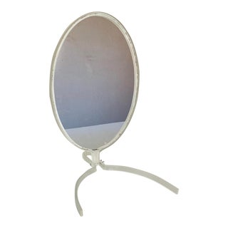 Vintage Sculptural Lucite Vanity Mirror For Sale