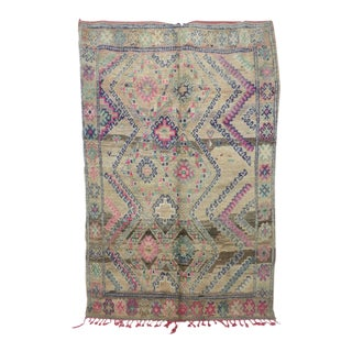 """Moroccan Boujad Rug, 6'9"""" X 10'6"""" / 205 X 320 CM For Sale"""