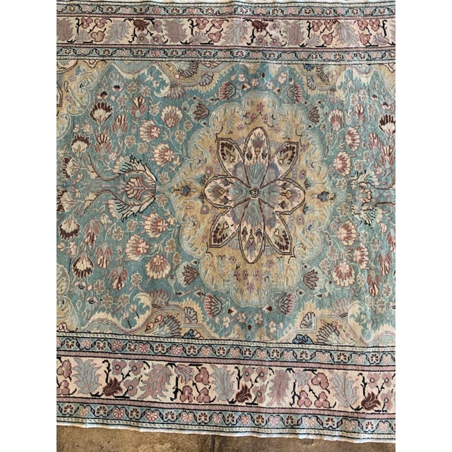 """Mid 20th Century Antique Persian Rug - 6' 6"""" X 4' 9.5"""" For Sale - Image 4 of 6"""