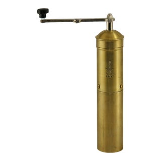 Heavy-Duty Brass Coffee Grinder | Pepper Mill For Sale