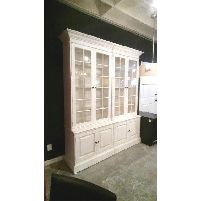 Glass Shelf White Bookcase - Image 2 of 5