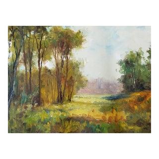 English Woodland Scene For Sale
