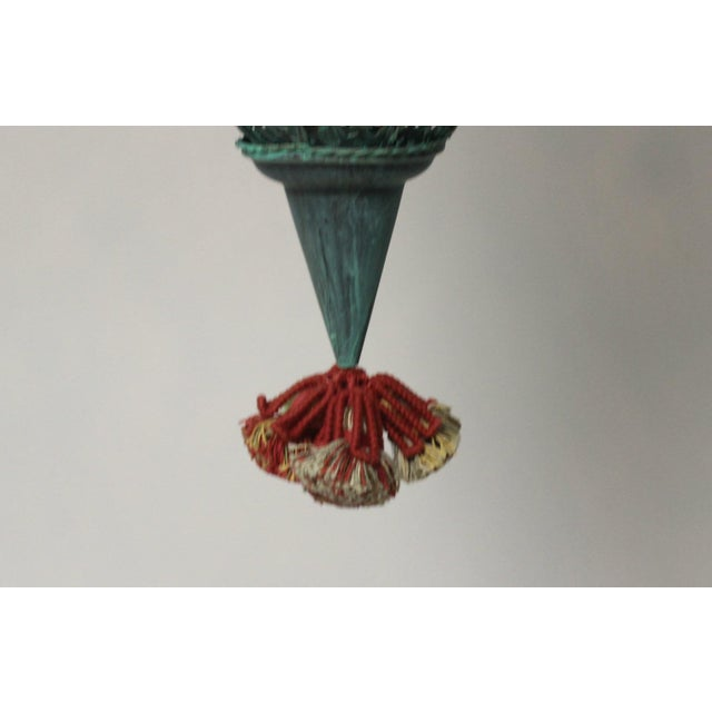Moroccan Style Hanging Lantern For Sale - Image 9 of 9