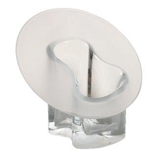 Late 20th Century Timo Sarpaneva Jurmo for Iittala Art Glass Vase For Sale