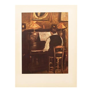 """1954 Raoul Dufy """"M. Gaston Dufy at the Piano"""", First Edition Lithograph For Sale"""