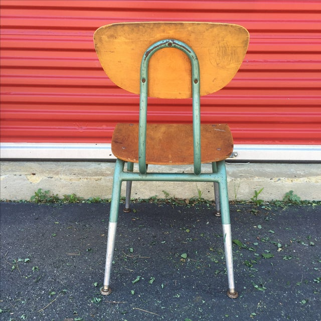 Mid Century Modern Bentwood Chair For Sale - Image 7 of 11