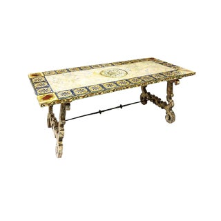 20th Century Spanish Baroque Style Side Table For Sale