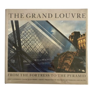 "1989 ""The Grand Louvre"" First Edition Museum Art Book For Sale"