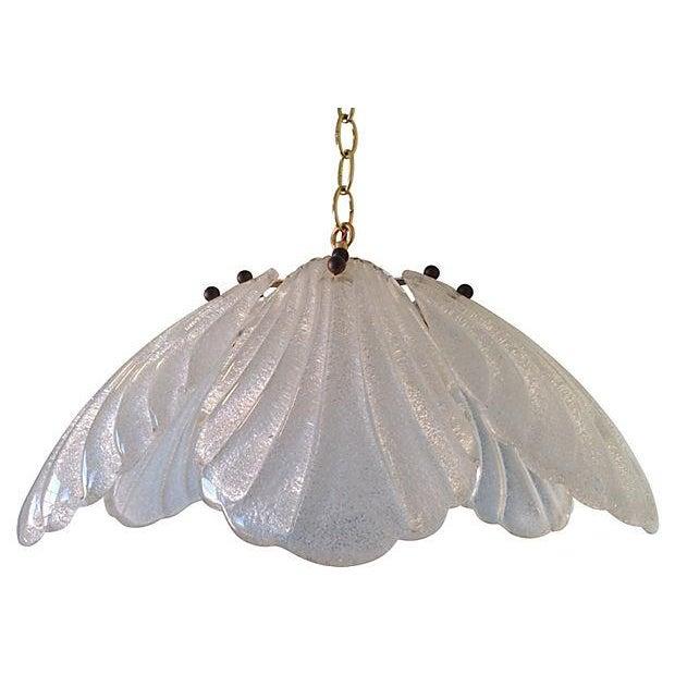 1960s Kalmar-Style Lotus Pendant - Image 1 of 6
