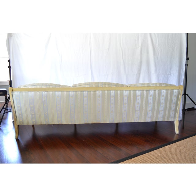 Vintage French Provincial Sofa For Sale - Image 4 of 4
