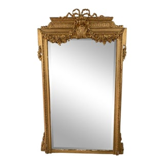 18th Century French Louis XVI Period Mirror For Sale