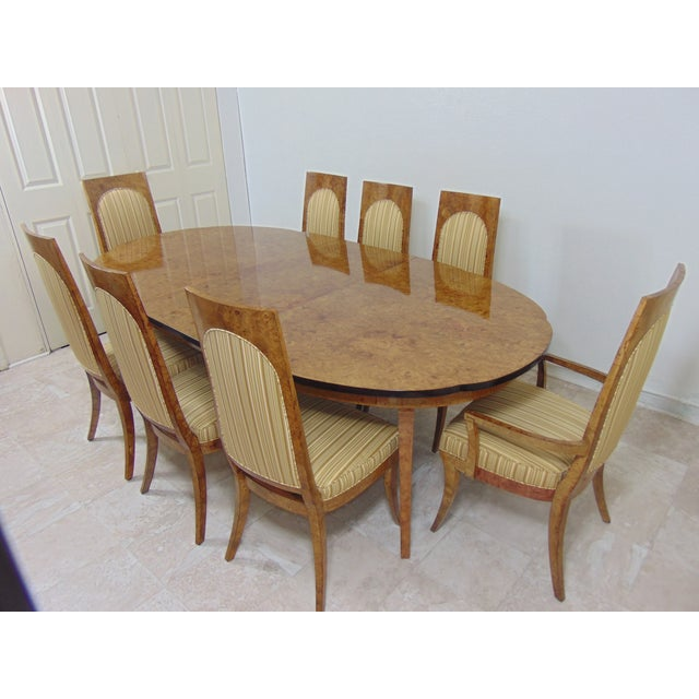 Contemporary Master Craft Dining Set For Sale - Image 3 of 11