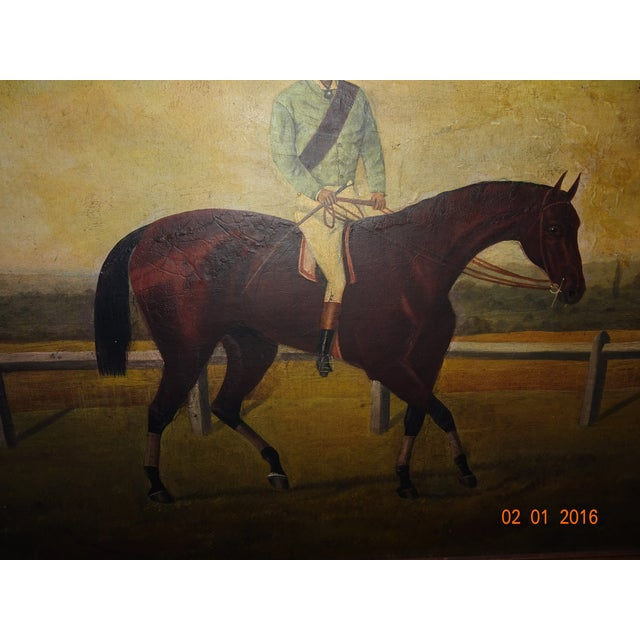 Jockey on Race Horse Painting For Sale In New Orleans - Image 6 of 11