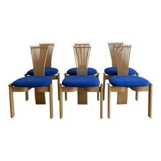 1980s Torstein Nilsen Totem Chairs- 6 For Sale