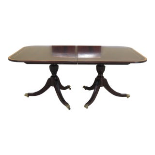 Stickley Duncan Phyfe Figural Mahogany Dining Room Table For Sale