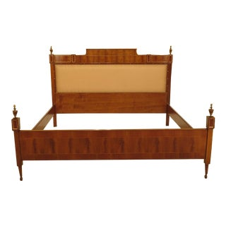 Italian Colombo Mobili King Size Bed For Sale