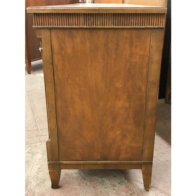 Baker Furniture Company Baker Mid Century 9 Drawer Chest of Drawers For Sale - Image 4 of 9