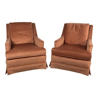 Drexel Vintage Club Chairs - A Pair