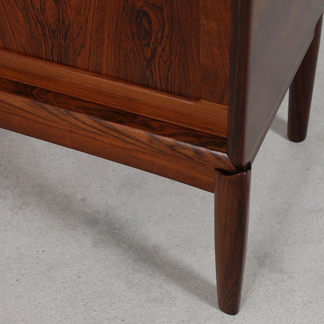 Rare Danish Modern Sideboard by HW Klein in Rosewood For Sale In Washington DC - Image 6 of 11